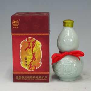 紹興酒 鄭萬利(テンマリ) 20年陳醸花彫酒 壺入り アルコール度数 16% 375ml  [660336]