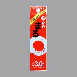 白鶴 サケパックまる 3L  [70008]