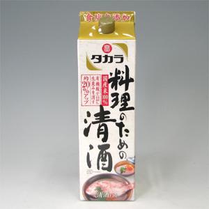 宝 料理のための清酒 パック 1.8L  [70679]