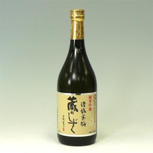 清鶴寒梅蔵のしずく(酒度±0 酸度1.4)720ml  [71611]