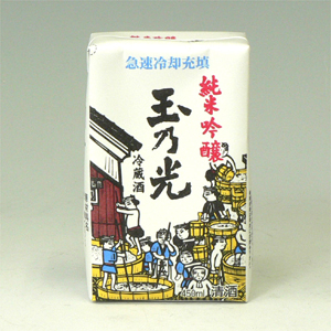 玉乃光 純米 パック 業務用 450ml  [71960]