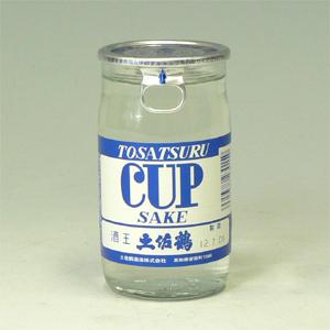 土佐鶴 ツルカップ 青 180ml 高知県 72459  [72459]
