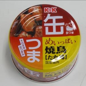 K&K 缶つまP めいっぱい 焼鳥 たれ 135g  [7276]