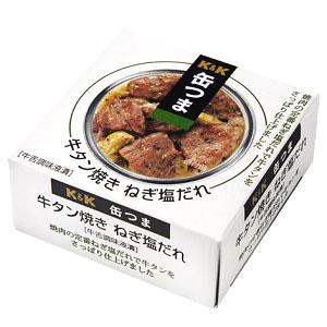 缶つま 牛タンねぎ塩だれ 60g  [007287]
