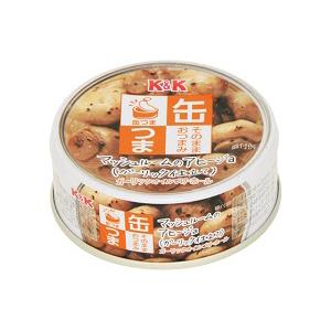 缶つま マッシュルームのアヒージョ 40g  [7305]