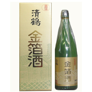 清鶴 上撰金箔酒 1800ml  [739]