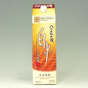 キリン 白水 麦 25°パック 1.8L  [74512]