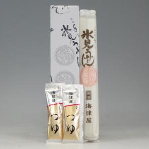 氷見うどん 細麺 1本 つゆ入り  [751041]