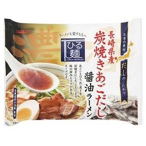 だし麺 長崎県産焼きあごだし醤油ラーメン107g [007531]