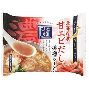 だし麺 北海道産甘えびだし味噌ラーメン 104g  [7534]