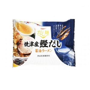 だし麺 焼津産鰹だし醤油ラーメン102g  [7536]