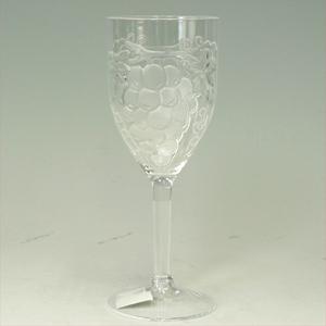 2914 アクリルワイングラス (葡萄柄) 340cc  [755005]