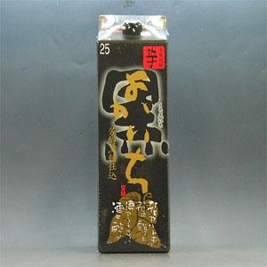 黒よかいち 芋焼酎 25° パック 1.8L  [76324]