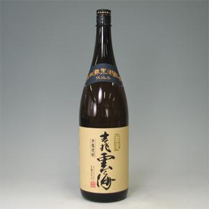 吉兆雲海 そば 25゜ 瓶 1.8L  [76461]