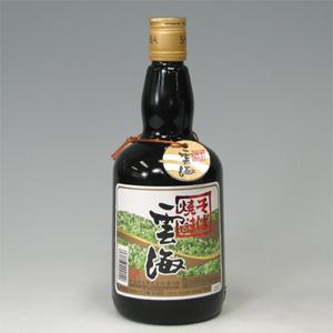 雲海 黒丸瓶 裸 25度 720ml  [76471]