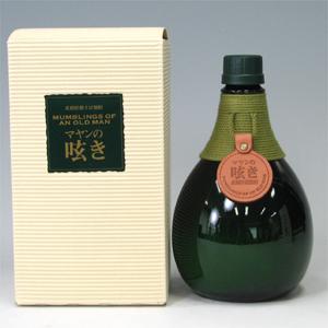 マヤンの呟き 長期貯蔵そば焼酎 38゜ 720ml  [76472]