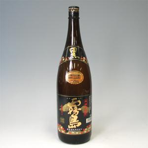 黒霧島 芋焼酎 25゜ 瓶 1.8L  [76537]