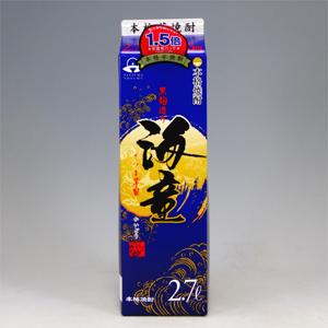 海童 25°芋焼酎 パック 2.7L  [76631]
