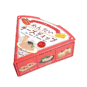 穂高観光食品 めんたいチーズディップ 80g  [769101]