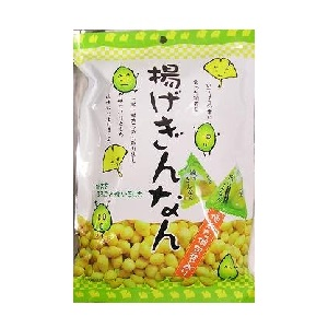 タクマ食品 揚げぎんなん(個包装) 40g袋  [769102]