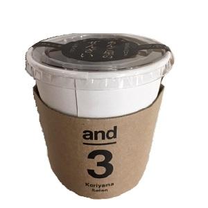 郡山製餡 and3 あんこ屋のぜんざい 150gカップ  [769114]