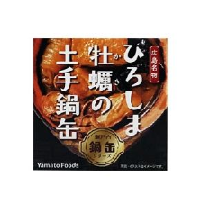 ヤマトフーズ ひろしま牡蠣の土手鍋缶(箱入り) 155g缶  [769117]