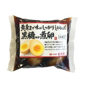 伍魚福 黒糖入り煮卵 4P  [770185]