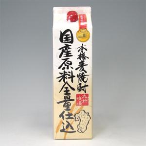九州浪漫 国産原料全量仕込 麦 1.8L  [77066]