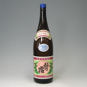 稲の露 30゜ 黒糖 1800ml  [77129]