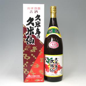 久米島の久米仙 でいご 古酒 43゜ 1.8L  [77456]