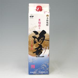 海童 芋 25゜パック 浜田酒造1.8L  [78018]