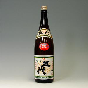 さつま五代 芋焼酎 25゜ 山元酒造1.8L  [78019]