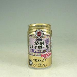 宝 焼酎ハイボール ぶどう割り 350ml  [80503]