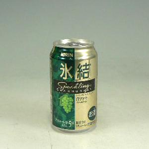 キリン 氷結 シャルドネ スパークリング 350ml  [80588]