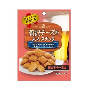 贅沢チーズの大人のスナック 明太子チーズ 35g  [8059]