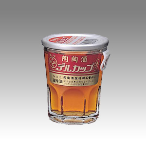 陶々酒 デルカツプ(甘口) 銀 50ml  [81035]