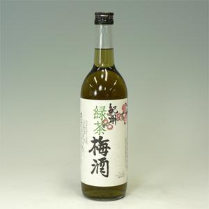 紀州 緑茶梅酒 12度 720ml 和歌山県  [81189]