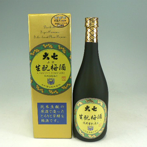 大七 生もと梅酒        720ml  [81265]