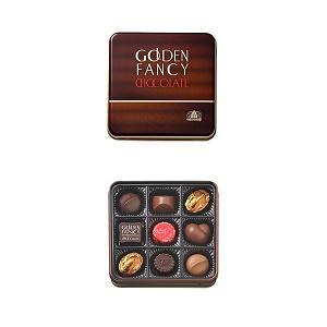 モロゾフ ゴールデンファンシー チョコレート 9個入り  [8255]
