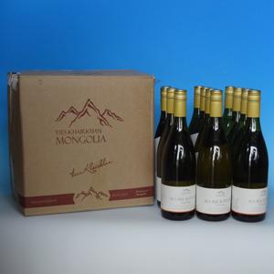 モンゴルワイン シーバックソーン(チャチャルガン) 750ml ×12本入り  [850581]