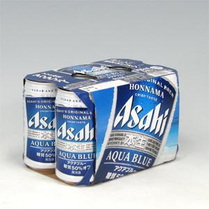アサヒ 本生 アクアブルー R缶350ml×24  [852186]