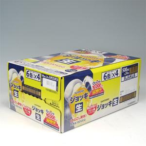 サントリー ジョッキ生 500ml缶×24  [852388]