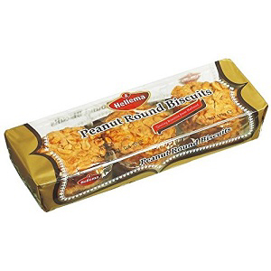 ヘレマ ピーナッツラウンドクッキー 150g  [8553]