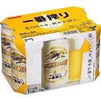 キリン 一番搾り 350ml缶X6P  [862009]