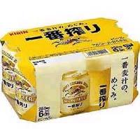 キリン 一番搾り 250ml缶X6P  [862027]