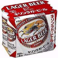 キリン ラガー 500ml缶X6P  [862034]