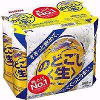 キリン のどごし 500ml缶×6P  [862087]