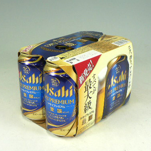 アサヒ ドライプレミアム 豊醸 350ml × 6缶パック  [862141]