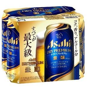 アサヒ ドライプレミアム 豊醸 500ml × 6缶パック  [862142]
