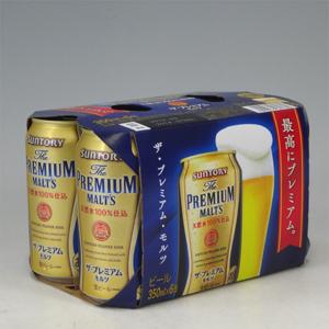 サントリー プレミアムモルツ R缶 350ml × 6缶パック  [862311]